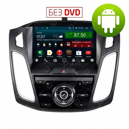 "Автомагнитола IQ NAVI T44-1410C Ford Focus III (2011-2015) на Android 4.4.2 Quad-Core (4 ядра) 9"" Full Touch"