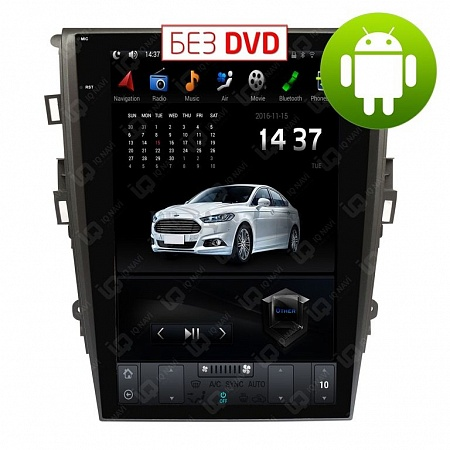 "Автомагнитола IQ NAVI T54-1414-TS Ford Mondeo V (2015+) на Android 4.4.2 Quad-Core (4 ядра) 12,1"" Full Touch"