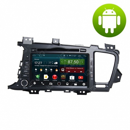 Автомагнитола IQ NAVI D44-1707 Kia Optima (TF) (2010-2013) на Android 4.4.2 Quad-Core (4 ядра) 8""