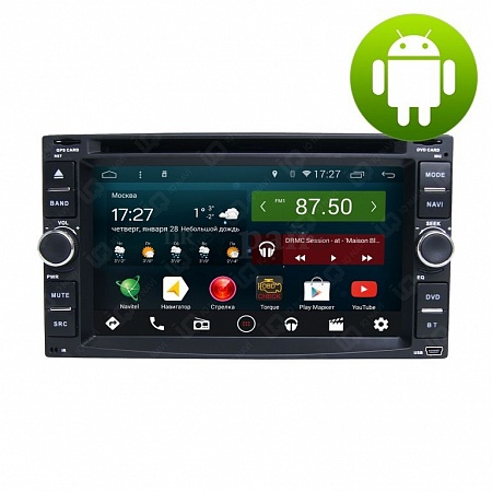 Автомагнитола IQ NAVI D44-2101 Nissan Note (E11) (2009-2014) на Android 4.4.2 Quad-Core (4 ядра) 6,2""