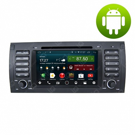 Автомагнитола IQ NAVI D44-1103 BMW X5 (E53) (1999-2006) на Android 4.4.2 Quad-Core (4 ядра) 7""