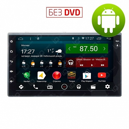 "Автомагнитола IQ NAVI T44-2101 Nissan Navara (D40) (2005-2015) на Android 4.4.2 Quad-Core (4 ядра) 7"" Full Touch"