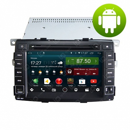 Автомагнитола IQ NAVI D44-1709 Kia Sorento (XM) (2009-2012) на Android 4.4.2 Quad-Core (4 ядра) 7""