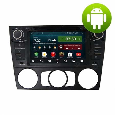 Автомагнитола IQ NAVI D44-1105 BMW 3er (E90 / E93) (2005-2012) на Android 4.4.2 Quad-Core (4 ядра) 7""